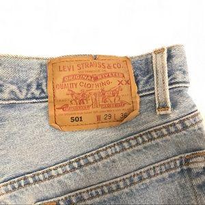 Levi's Shorts - 501 Levi Denim Cutoffs